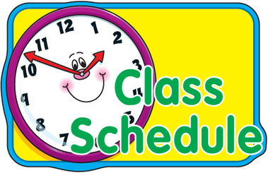 Image result for our class schedule